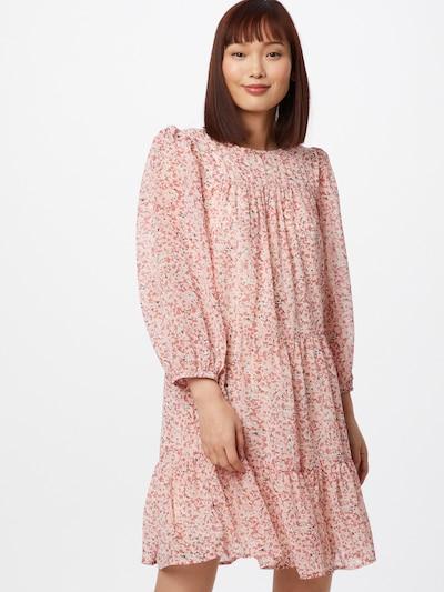 ONLY Vasaras kleita 'MISTY' rožkrāsas / balts, Modeļa skats
