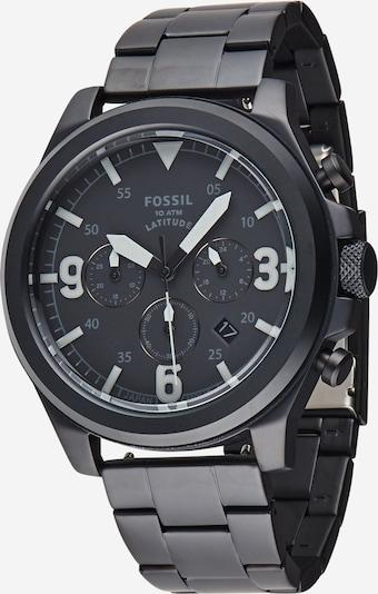 FOSSIL Analoginen kello 'Latitude' värissä musta, Tuotenäkymä