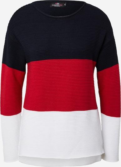 Zwillingsherz Jersey en azul noche / rojo / blanco, Vista del producto
