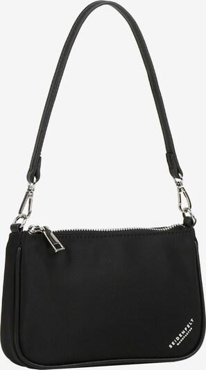 Seidenfelt Manufaktur Inari Schultertasche 20 cm in schwarz, Produktansicht