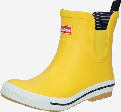 Derbe Rubber boot 'Wattpuuschen Eco' in Yellow, Item view