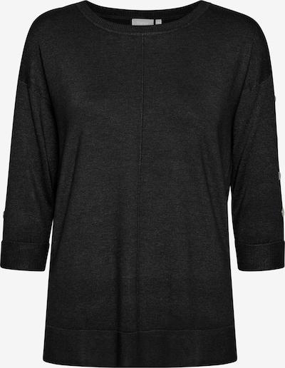 Fransa Strickpullover in schwarz, Produktansicht