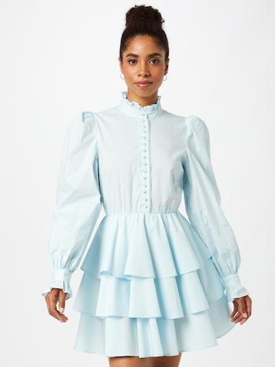 Custommade Рокля тип риза 'Lydia' в светлосиньо, Преглед на модела