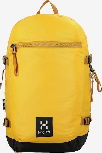 Haglöfs Rugzak 'Mirre' in de kleur Geel / Zwart / Wit, Productweergave
