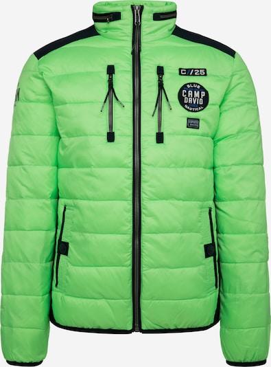 CAMP DAVID Winterjas in de kleur Neongroen, Productweergave