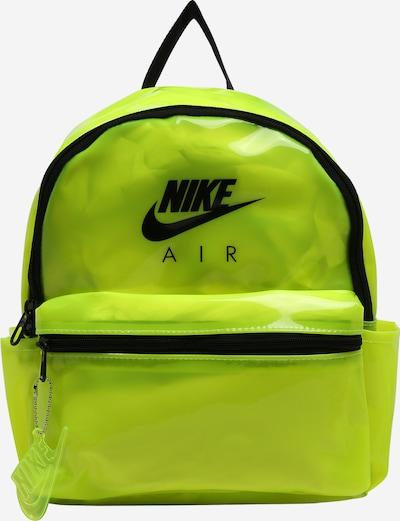 Nike Sportswear Rucksack 'Just Do It' in neongelb / schwarz, Produktansicht