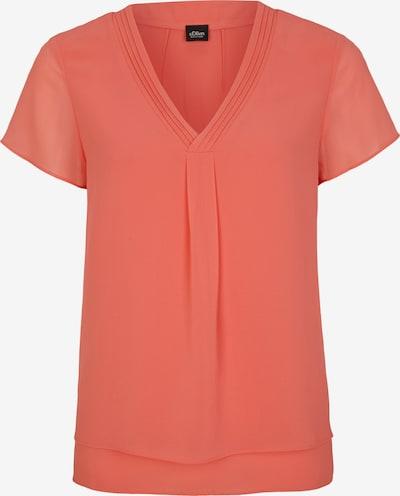 s.Oliver BLACK LABEL Bluse in orange, Produktansicht