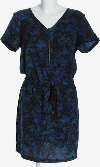 SELECTED Kurzarmkleid in XS in blau / schwarz, Produktansicht