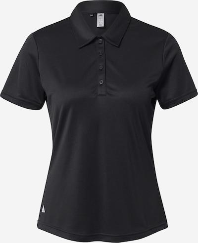 adidas Golf Sport-Shirt in schwarz, Produktansicht