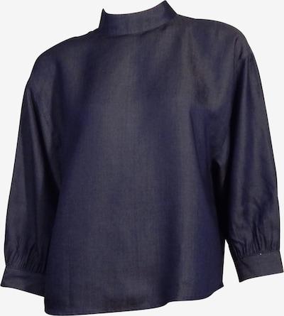 Someday Bluse in dunkelblau, Produktansicht