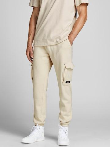 Pantaloni cargo 'Gordon' di JACK & JONES in beige