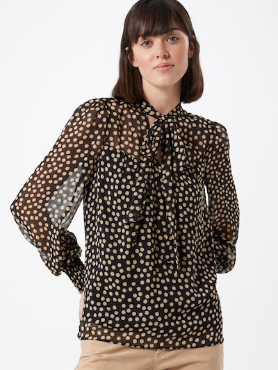 Bluză Dorothy Perkins pe bej deschis / negru, Vizualizare model