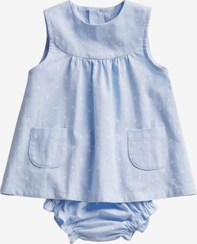 MANGO KIDS Šaty 'FLORIDA' - nebesky modrá / biela, Produkt