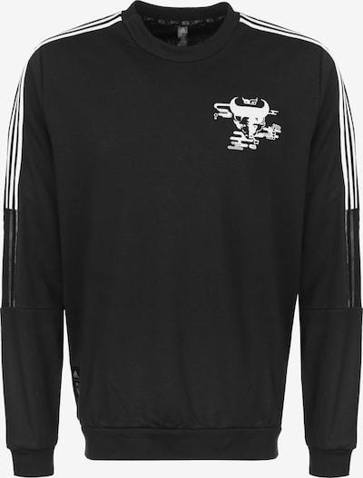 ADIDAS PERFORMANCE Sportsweatshirt 'Real Madrid' in schwarz / weiß, Produktansicht