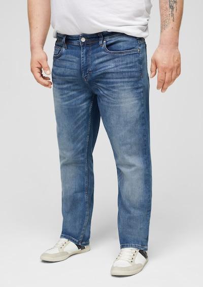 s.Oliver Red Label Big & Tall Jeans in blue denim, Modelansicht