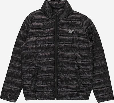 4F Sportjacke in grau / schwarz, Produktansicht