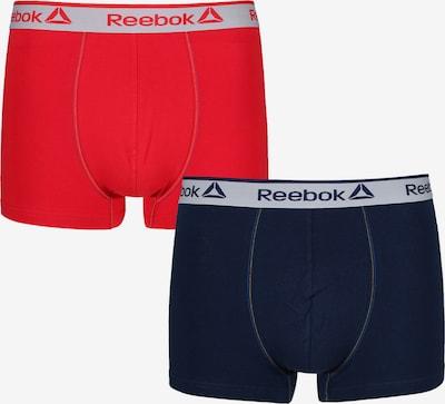 REEBOK Boxershorts in blau / rot, Produktansicht