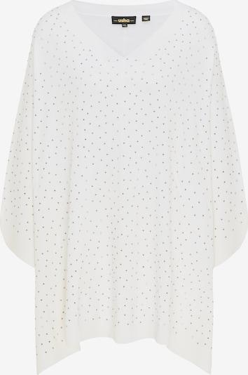 usha BLACK LABEL Cape in de kleur Wit, Productweergave