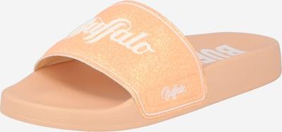 BUFFALO Zapatos abiertos 'RIO' en melocotón / blanco, Vista del producto