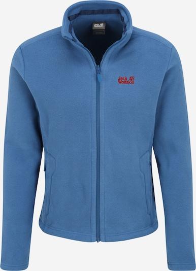 JACK WOLFSKIN Fleece jas 'MOONRISE' in de kleur Blauw, Productweergave