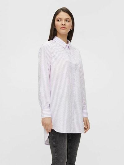 PIECES Blouse in de kleur Sering / Wit, Modelweergave
