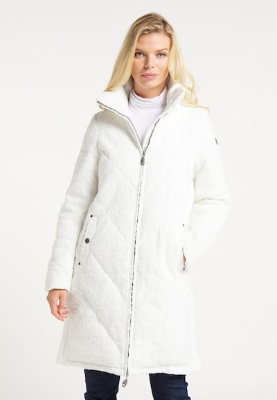 DreiMaster Vintage Mantel in weiß, Modelansicht