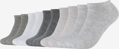 s.Oliver Socks 'Venezia' in Grey / Light grey / Dark grey / mottled grey / White, Item view