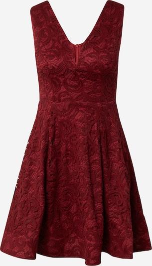 Skirt & Stiletto Jurk in de kleur Wijnrood, Productweergave