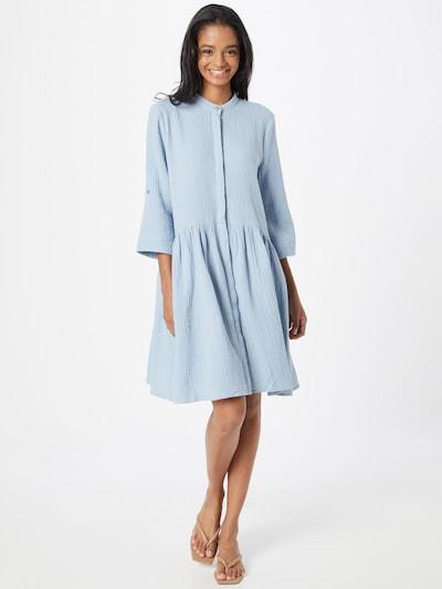 Rochie tip bluză 'Albana' mbym pe albastru deschis, Vizualizare model
