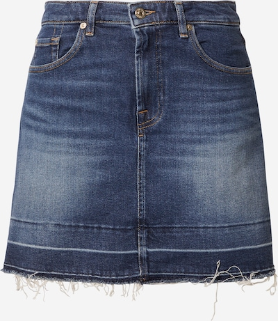 7 for all mankind Falda en azul denim, Vista del producto
