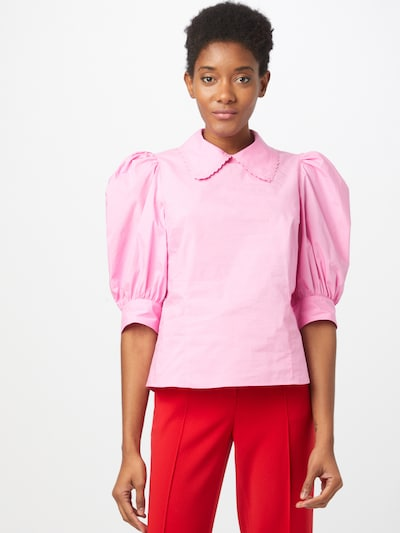 Custommade Блуза 'Dunya' в розово: Изглед отпред