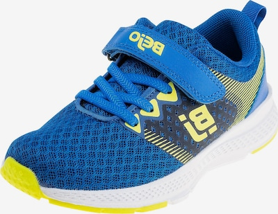 BEjO Sneakers 'Premero' in Royal blue / Yellow / Black, Item view