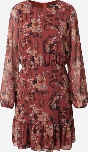 Trendyol Kleid in rostbraun / mischfarben, Produktansicht