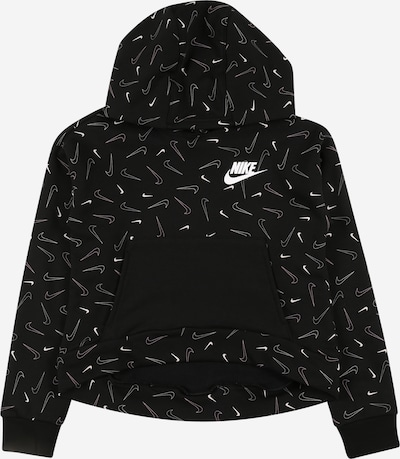 Nike Sportswear Sweatshirt en pink / schwarz / weiß, Vue avec produit