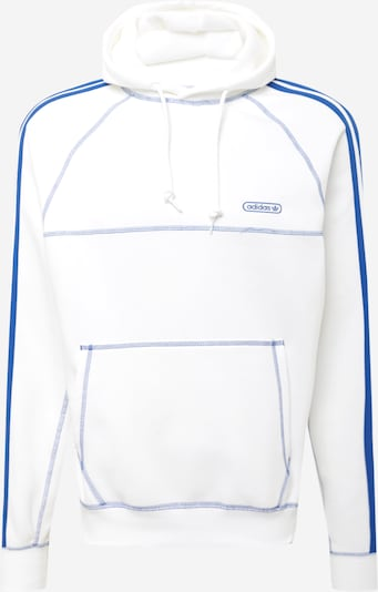 ADIDAS ORIGINALS Sweat-shirt en bleu / blanc, Vue avec produit