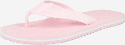 Calvin Klein Jeans Zehentrenner in rosa / weiß, Produktansicht
