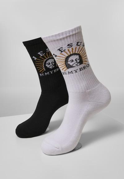 Mister Tee Sokken in de kleur Gemengde kleuren / Zwart / Wit, Productweergave