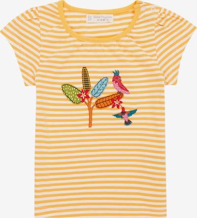 Sense Organics Camiseta 'GADA' en amarillo / blanco, Vista del producto