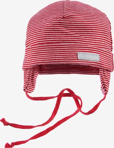 BONDI Mütze in rot / weiß, Produktansicht