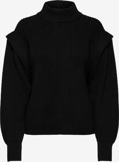 SELECTED FEMME Pullover 'Fray' in schwarz, Produktansicht