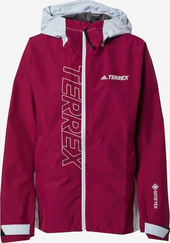 adidas Terrex Outdoor Jacket 'TERREX GORE-TEX Paclite' in Red