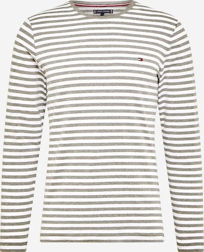 TOMMY HILFIGER T-Shirt en gris foncé / blanc, Vue avec produit