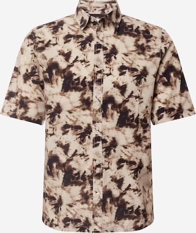 Samsoe Samsoe Hemd 'Taro' in beige / braun, Produktansicht