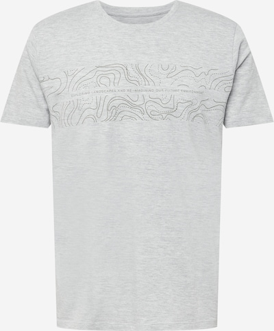 EDC BY ESPRIT Shirt in mottled grey / Black, Item view