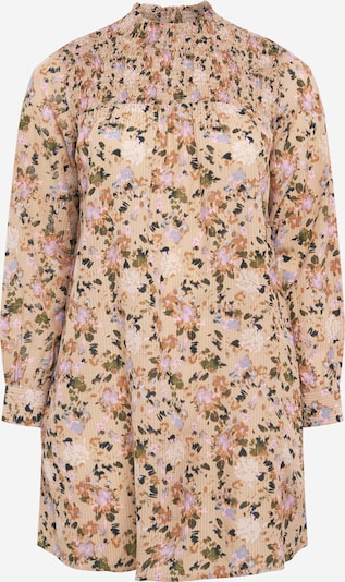 KAFFE CURVE Blouse 'Leana' in Beige / Mixed colours, Item view