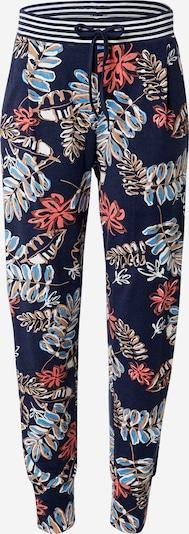 kék / éjkék / piros / fehér Mey Pizsama nadrágok 'Dani', Termék nézet
