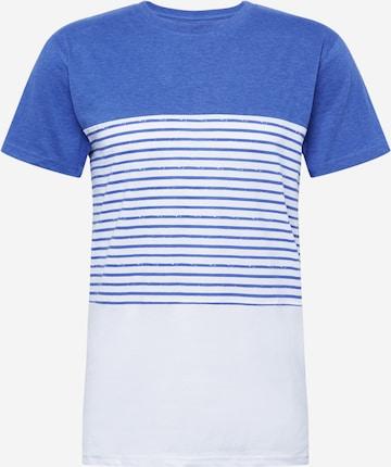 Alife and Kickin Shirt 'Ben' in Blue