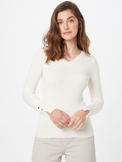 fehér GUESS Pulóver 'Gena', Modell nézet