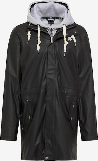 Schmuddelwedda 3 in 1 Regenmantel in schwarz, Produktansicht