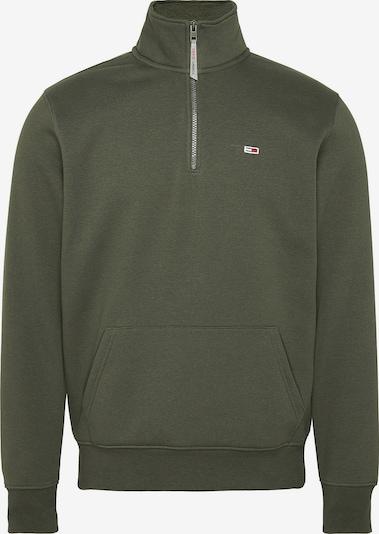 Tommy Jeans Sweatshirt in navy / oliv / feuerrot / weiß, Produktansicht